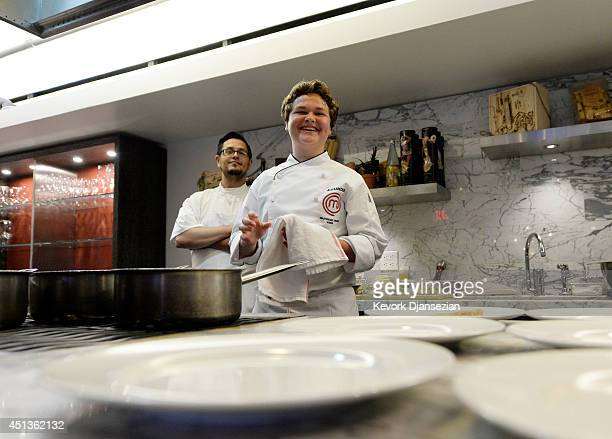 Masterchef Junior Winner Alexander Weiss Vip Dinner Stock Photos And