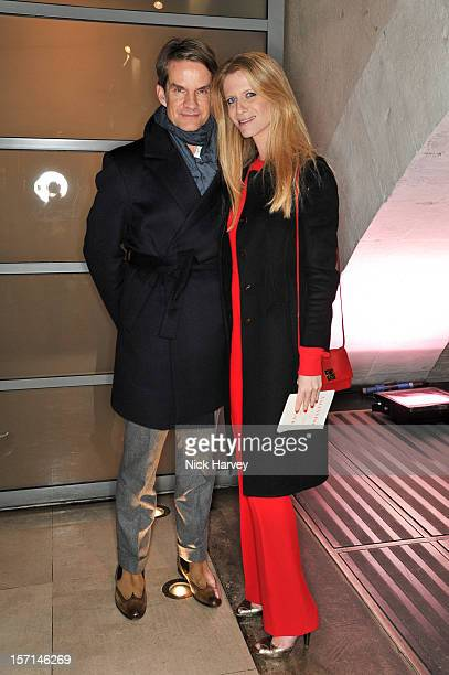 Alexander Werz and Francesca Nardi attend the VIP view of Valentino Master of Couture at Embankment Gallery on November 28 2012 in London England