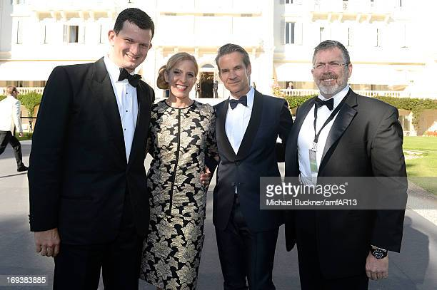 Alexander Werz and guests attend amfAR's 20th Annual Cinema Against AIDS during The 66th Annual Cannes Film Festival at Hotel du CapEdenRoc on May 23...