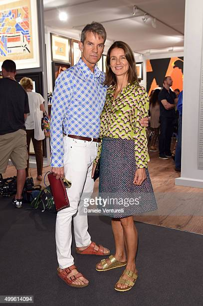 Alexander Werz and Karla Otto attend Art Basel Miami Beach VIP Preview at the Miami Beach Convention Center on December 2 2015 in Miami Beach Florida