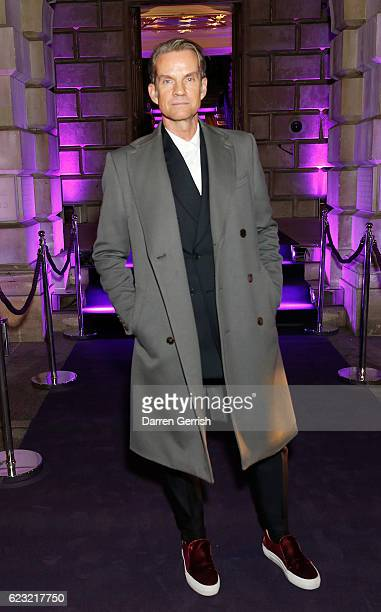 Alexander Werz attends a private dinner hosted by Stuart Weitzman and Gigi Hadid to celebrate the opening of the Stuart Weitzman London Flagship...