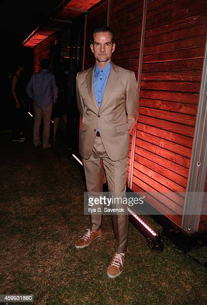 Alexander Werz attends Bally presents TRIANGLE WALKS during Art Basel Miami 2014 at Delano Hotel on December 3 2014 in Miami Florida