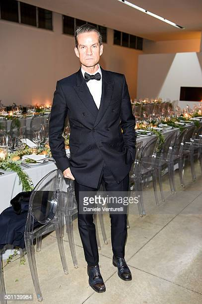 Alexander Werz attends Lampoon First Birthday Event on December 12 2015 in Milan Italy