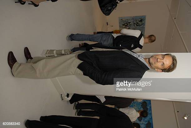 Alexander Werz attends LUTZ and PATMOS Spring '09 Presentation at Ralph Pucci Gallery on September 9 2008 in New York City