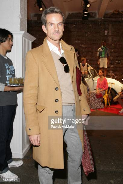 Alexander Werz attends THE LAUNCH OF TOMMY SPRING 2011 COLLECTION at Drive in Studios on November 11 2010 in New York City