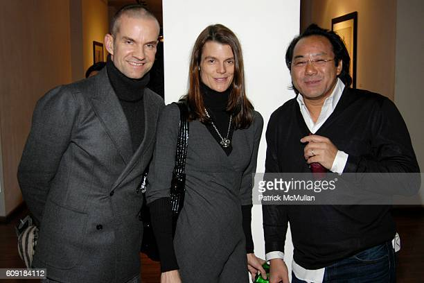 Alexander Werz Mary Parr and Ashley Chan attend Lutz And Patmos Presentation at Pucci Gallery on February 8 2007 in New York City