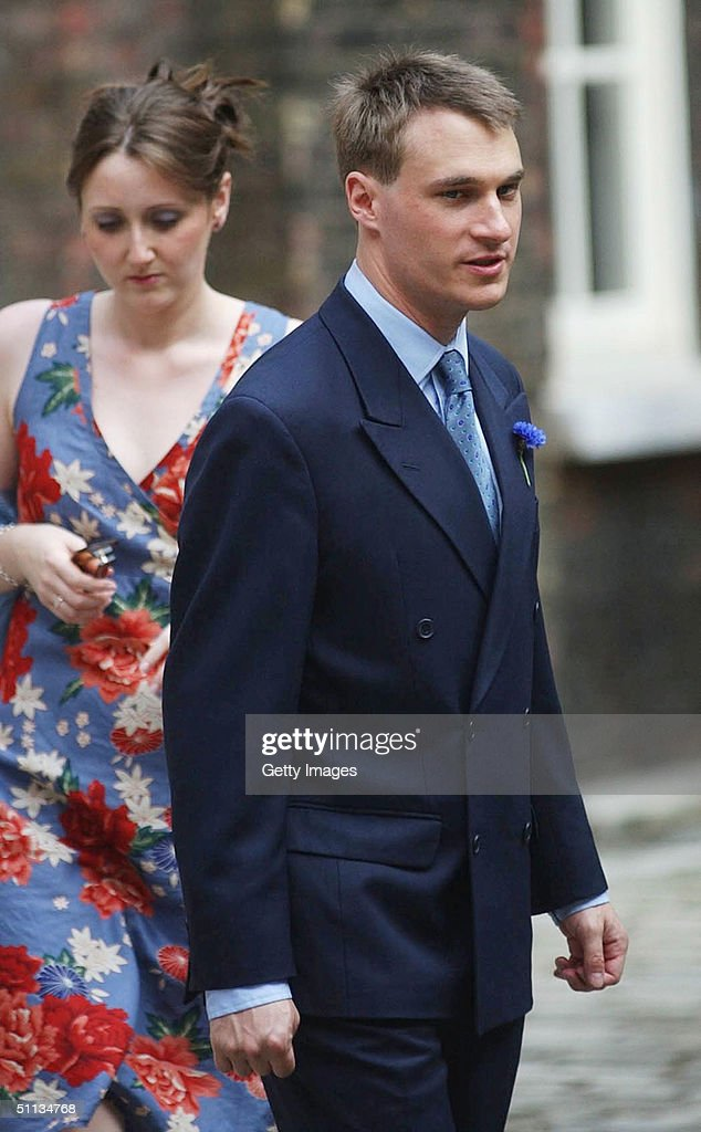 Earl Of Ulster Wedding: Alexander Windsor,The Earl Of Ulster, Arrives For The
