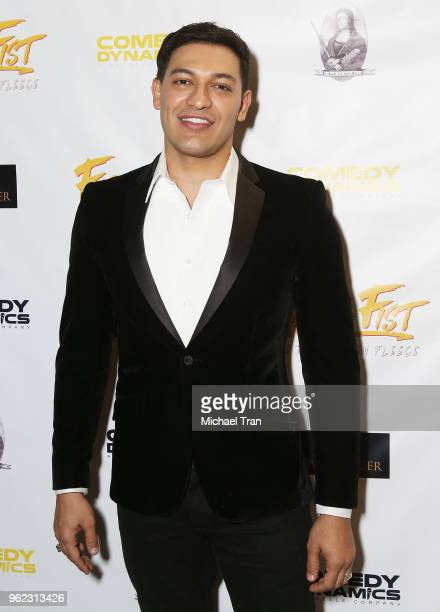 Alexander Wraith attends the Los Angeles premiere of Comedy Dynamics' The Fury Of The Fist And The Golden Fleece held at Laemmle's Music Hall 3 on...