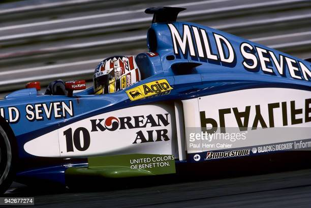 Alexander Wurz, Benetton-Playlife B199, Grand Prix of Austria, A1-Ring Spielberg, 25 July 1999.