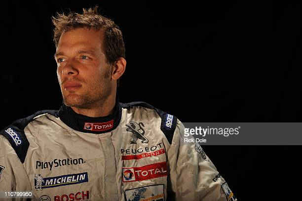 Alexander Wurz of Austria, driver of the Peugeot Sport Total Peugeot 908, during the Intercontinental Le Mans Cup 12 Hours of Sebring, at Sebring...
