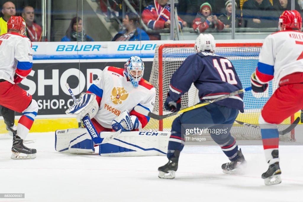 Russia v USA - Deutschland Cup 2017