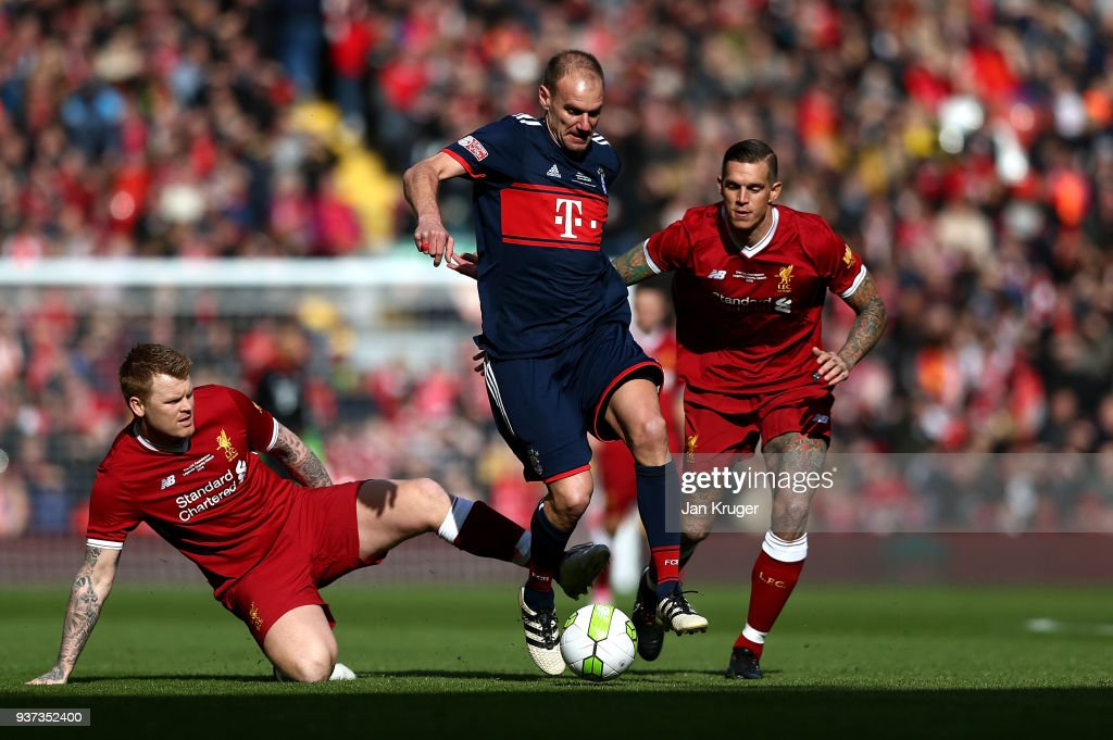 Liverpool FC Legends v FC Bayern Legends - Friendly Match