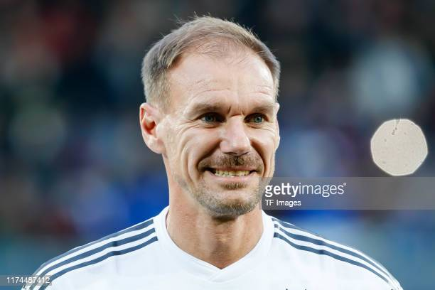 Alexander Zickler of Germany looks on during the friendly match between DFBAllStars and Azzurri Legends at Sportpark Ronhof Thomas Sommer on October...