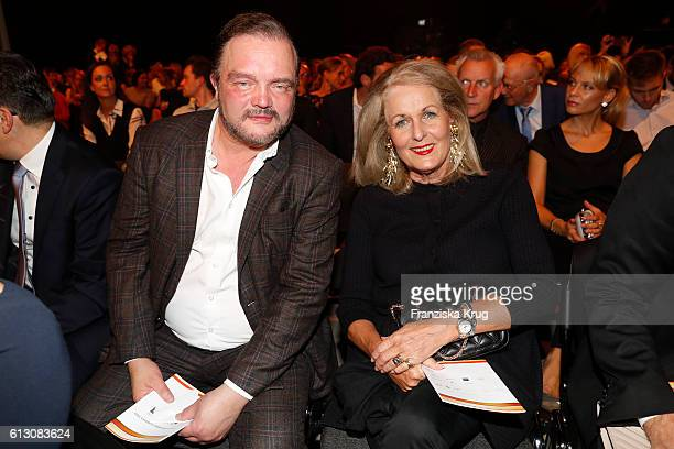 Alexander zu SchaumburgLippe and Alexandra Oetker attend the Tribute To Bambi at Station on October 6 2016 in Berlin Germany
