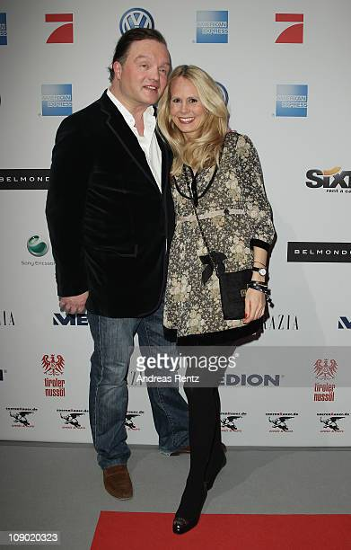Alexander zu SchaumburgLippe and his wife Nadja attend the Movie meets Media party during the 61st Berlin International Film Festival at Ritz Carlton...