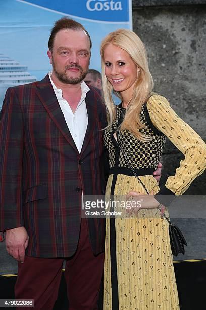 Alexander zu SchaumburgLippe and Nadja zu SchaumburgLippe attend the Movie meets Media party during the Munich Film Festival on June 29 2015 in...