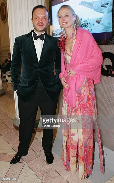 Alexander zu SchaumburgLippe and Vanessa zu SaynWittgenstein attend the Cinema for Peace Awards and gala at the Konzerthaus am Gendermenmarkt...