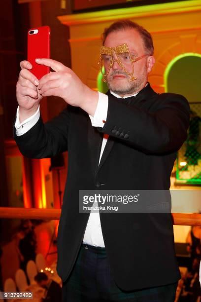 Alexander zu SchaumburgLippe during the Bal du Masque at Museum fuer Kunst und Gewerbe on February 3 2018 in Hamburg Germany