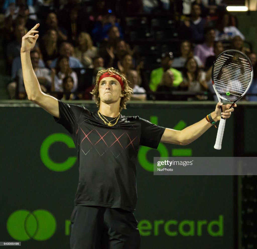 Miami Open 2018 - Day 11 : News Photo