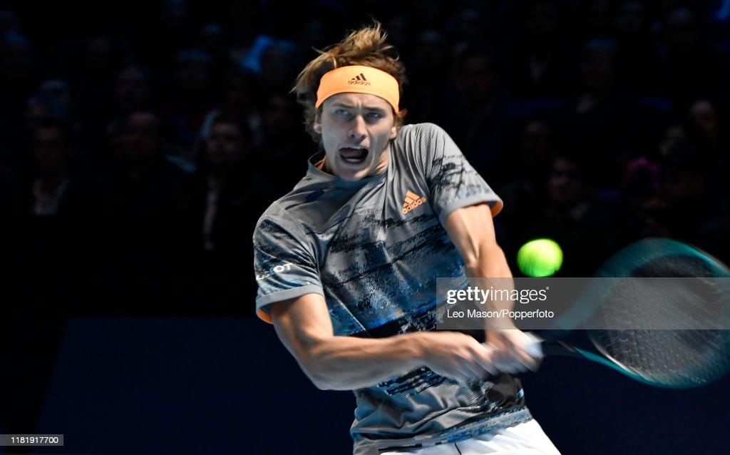 2019 Nitto ATP Tennis Finals 02 Arena London UK : News Photo