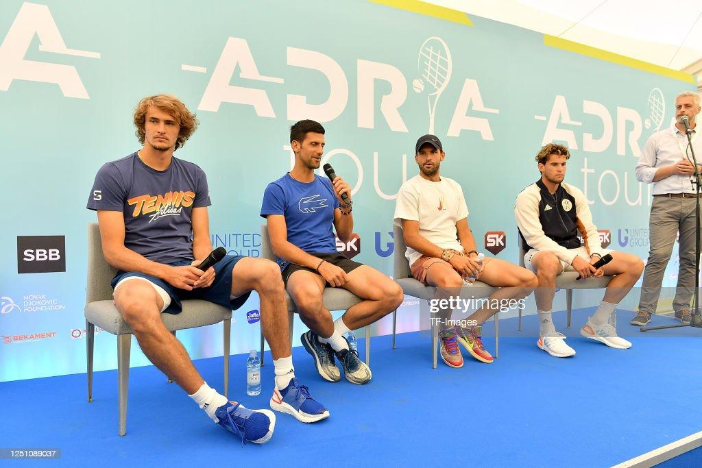 Adria Tour Tennis : News Photo