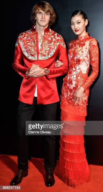 Alexander Zverev of Germany attends the 2017 China Open Player Party at Beijing Olympic Tower on October 1 2017 in Beijing China
