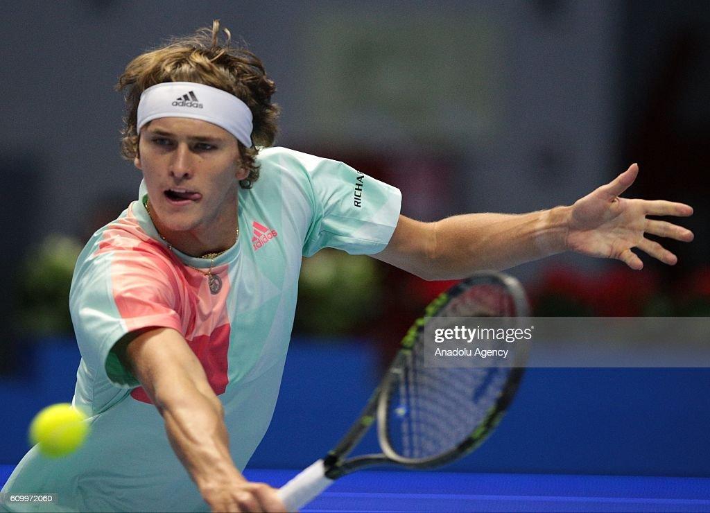 St.-Petersburg Open Tennis Tournament Fourth Day : News Photo