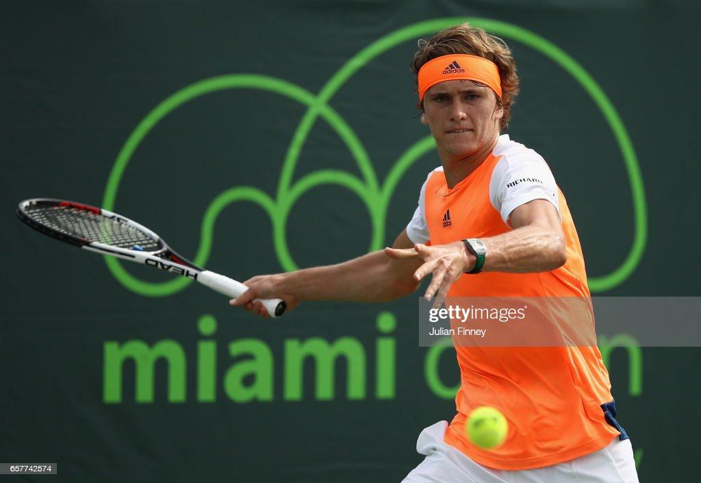 2017 Miami Open - Day 6 : ニュース写真