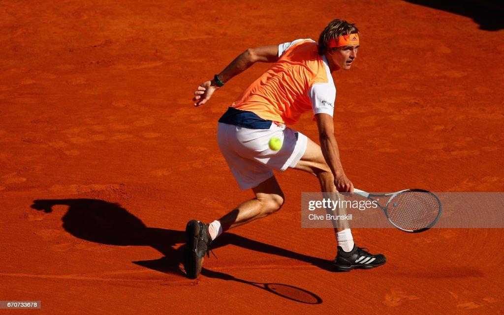 ATP Masters Series: Monte Carlo Rolex Masters - Day Five : Nachrichtenfoto