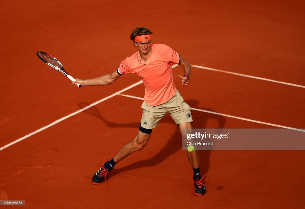 2018 French Open - Day One : News Photo