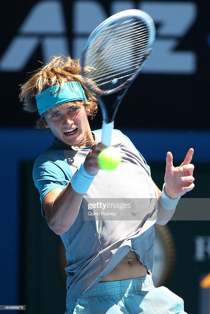 2014 Australian Open Junior Championships : Nachrichtenfoto