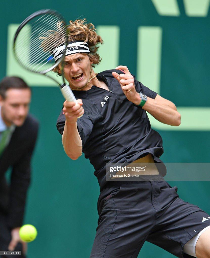 ATP World Tour 500 Gerry Weber Open : Nachrichtenfoto
