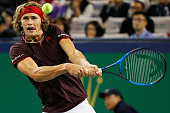 shanghai china alexander zverev germany returns