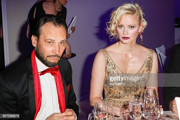 AlexanderKlaus Stecher and Franziska Knuppe attend the Rosenball 2016 on April 30 2016 in Berlin Germany