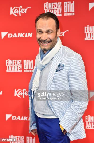 AlexanderKlaus Stecher attends the BILD Muenchen Newspaper 50th anniversary party at MTTC IPHITOS on May 3 2018 in Munich Germany