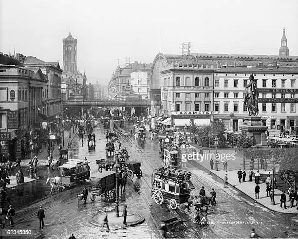 Alexanderplatz Berlin circa 1880