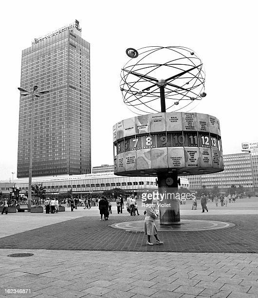 Alexanderplatz East Berlin 1979