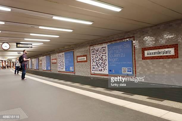 U-Bahn-Haltestelle Alexanderplatz
