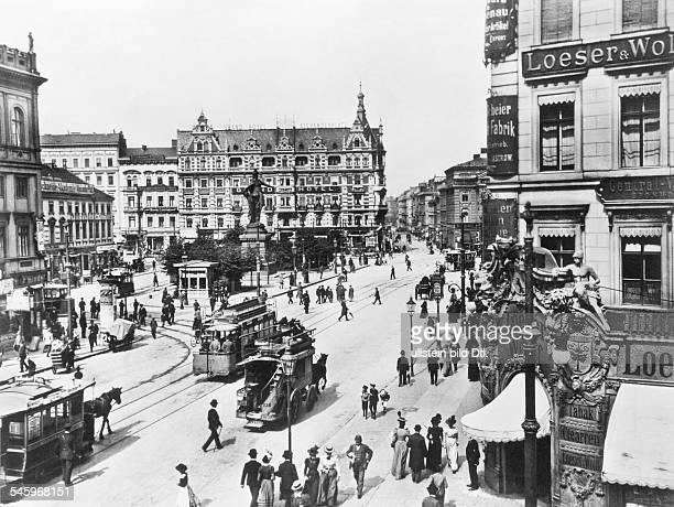 Alexanderplatz mit Berolina1898