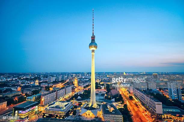 Alexanderplatz-Fernsehturm