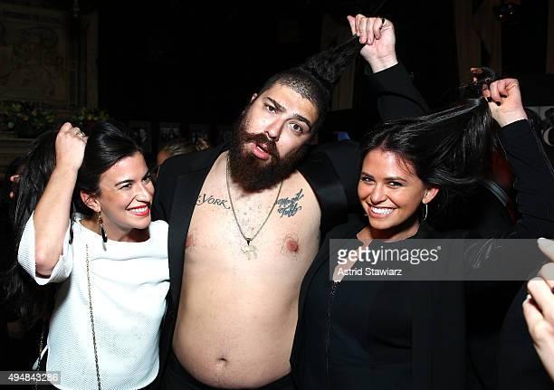 Alexandra Acosta The Fat Jew and Elan Nehleber attend as Jason Binn Nicole Vecchiarelli And Kevin Ryan Celebrate DuJour Magazine's Special...