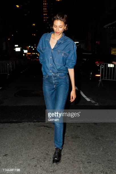 Alexandra Agoston attends Gigi Hadid's 24th Birthday at L'Avenue in Midtown on April 22 2019 in New York City