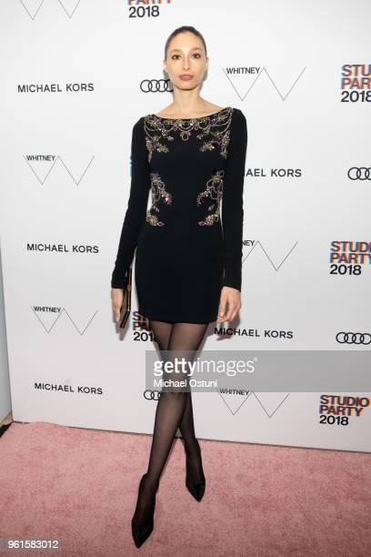 Alexandra Agoston attends the Whitney Museum Celebrates The 2018 Annual Gala And Studio Party at The Whitney Museum of American Art on May 22 2018 in...