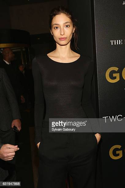 Alexandra Agoston attends TWCDimension with Popular Mechanics The Palm Court Wild Turkey Bourbon Host the Premiere of Gold at AMC Loews Lincoln...