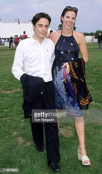 Alexandra Aitken and brother at Cartier International Polo
