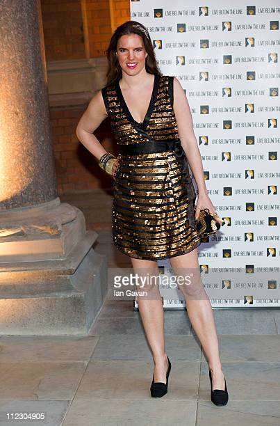 Alexandra Aitken attends the 'Live Below the Line' Charity Benefit at the St Pancras Renaissance Hotel on April 18 2011 in London England