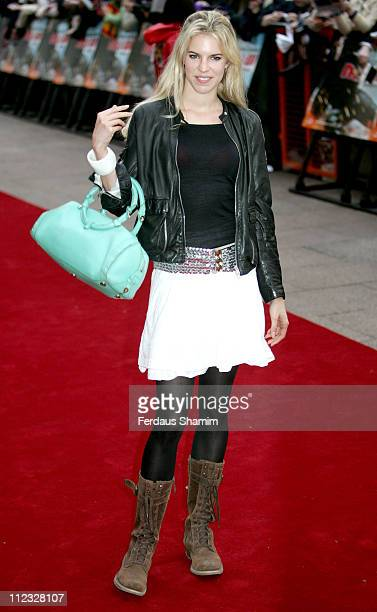 Alexandra Aitken during Mission Impossible III London Premiere Outside Arrivals at Odeon Leicester Square in London Great Britain