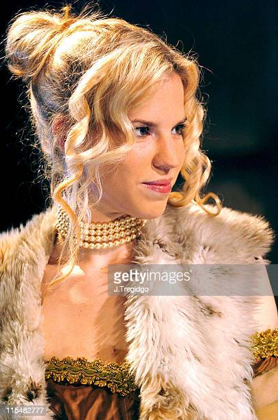 Alexandra Aitken during Trelawny of the Wells Press Photocall at Finborough Theatre in London Great Britain