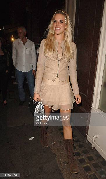 Alexandra Aitken during You Me and Dupree' Charity Premiere Aftershow Party at Floridita in London Great Britain
