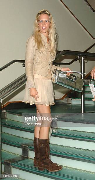 Alexandra Aitken during You Me and Dupree UK Charity Premiere Inside Arrivals at Odeon Leicester Square in London Great Britain